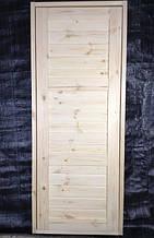 Двері дерев'яні міжкімнатні модель ТАЯ-М2 йдуть відразу пофарбовані масло воском різних кольорів