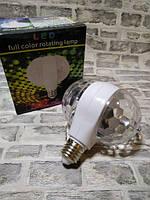 Светодиодная двойная вращающаяся Диско-Лампа LED Magic Ball Light, фото 5