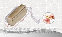 Щетка банная двусторонняя с натуральным ворсом, фото 4