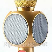 Караоке Микрофон Wster WS-1816 Матовый Золотой, фото 5