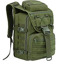 Рюкзак тактический Eagle M09G (штурмовой, военный) мужская сумка Оливковый 25 л.
