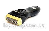 Сіткова електробритва Gemei GM 9002 з висувним тримером 2 голівки LED індикація, фото 5
