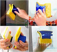 Магнітна щітка для миття вікон, фото 2