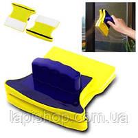 Магнітна щітка для миття вікон, фото 3