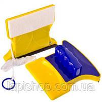 Магнитная щетка для мытья окон, фото 4