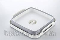 Кошик складний для овочів і фруктів портативна раковина зі зливом, фото 2