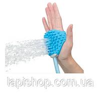 Перчатка для мойки животных ЩЕТКА-ДУШ ДЛЯ СОБАК Aquapaw, фото 2