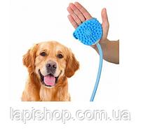 Рукавиця для миття тварин ЩІТКА-ДУШ ДЛЯ СОБАК Aquapaw, фото 3
