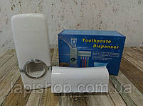 Тримач з дозатором для зубних щіток, фото 2