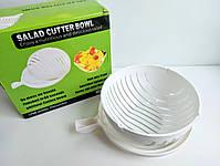 Овочерізка для приготування салату Salad Cutter Bowl 3 в 1, фото 5