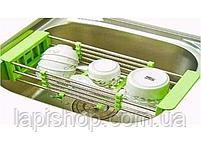 Складна багатофункціональна кухонні сушарка Kitchen Drain Shelf Rack, фото 2