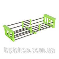 Складна багатофункціональна кухонні сушарка Kitchen Drain Shelf Rack, фото 3