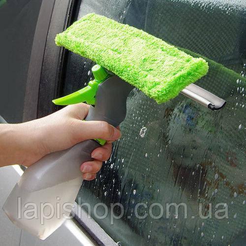 Щітка для миття вікон Easy Glass 3 in 1 Spray Window Cleaner