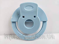 Светодиодное кольцо для селфи Selfie Ring Light на аккумуляторе ГОЛУБОЕ, фото 4