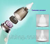Назальный аспиратор для детей (электрический) lb-1801, фото 5