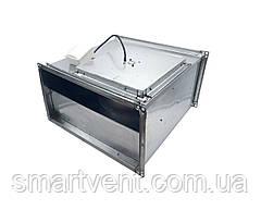 Прямокутний канальний вентилятор для прямокутних каналів ВКПН 4Е 800х500