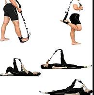Эластичная лента для йоги Ремень для тренировки ног STRETCH BAND
