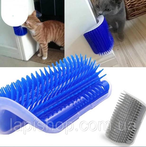 Щетка для самогруминга кошек Catit Self Groomer