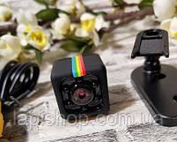 Міні камера SQ11 маленька камера з нічною зйомкою Датчик руху, фото 3