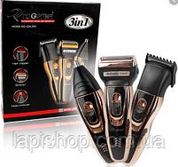 Набір для стрижки Gemei GM 595 тример 3 в 1 для стрижки волосся і бороди, фото 3