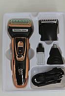 Набір для стрижки Gemei GM 595 тример 3 в 1 для стрижки волосся і бороди, фото 4