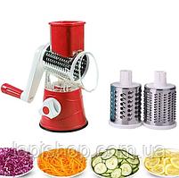 Овочерізка мультіслайсер для овочів і фруктів Kitchen Master, фото 6
