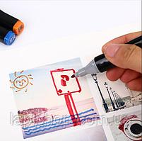 Набір маркерів для скетчінга (24шт.) Чорний, фото 2