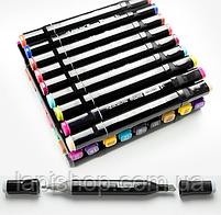 Набір маркерів для скетчінга (24шт.) Чорний, фото 3
