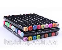 Набір маркерів для скетчінга (24шт.) Чорний, фото 5