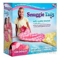 Одеяло хвост русалки Snuggie Tails оранжевый, фото 3