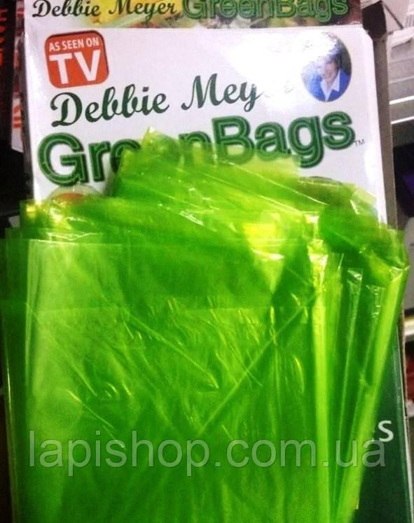 Пакети для зберігання продуктів Грін Бэгс зелені пакети lp