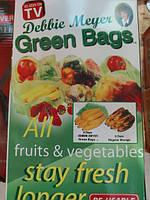 Пакети для зберігання продуктів Грін Бэгс зелені пакети lp, фото 2