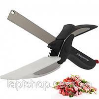 Кухонні ножиці універсальні Clever cutter Ніж-ножиці 2 в 1 lp, фото 2