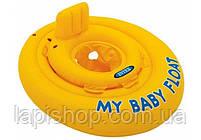 Детский надувной плотик ходунки Intex 70 см 56585, фото 2