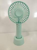 Ручний портативний вентилятор Mini Fan Handy, фото 2