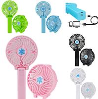 Ручной портативный вентилятор складной Mini Fan Handy SS-2, фото 2