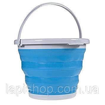 Відро складне 10 літрів туристичне Collapsible Bucket