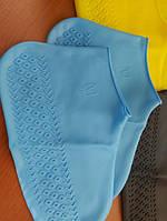 Водонепроницаемые чехлы на обувь от дождя S, M, L, фото 2