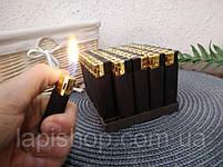 Зажигалка обычная черная, фото 2