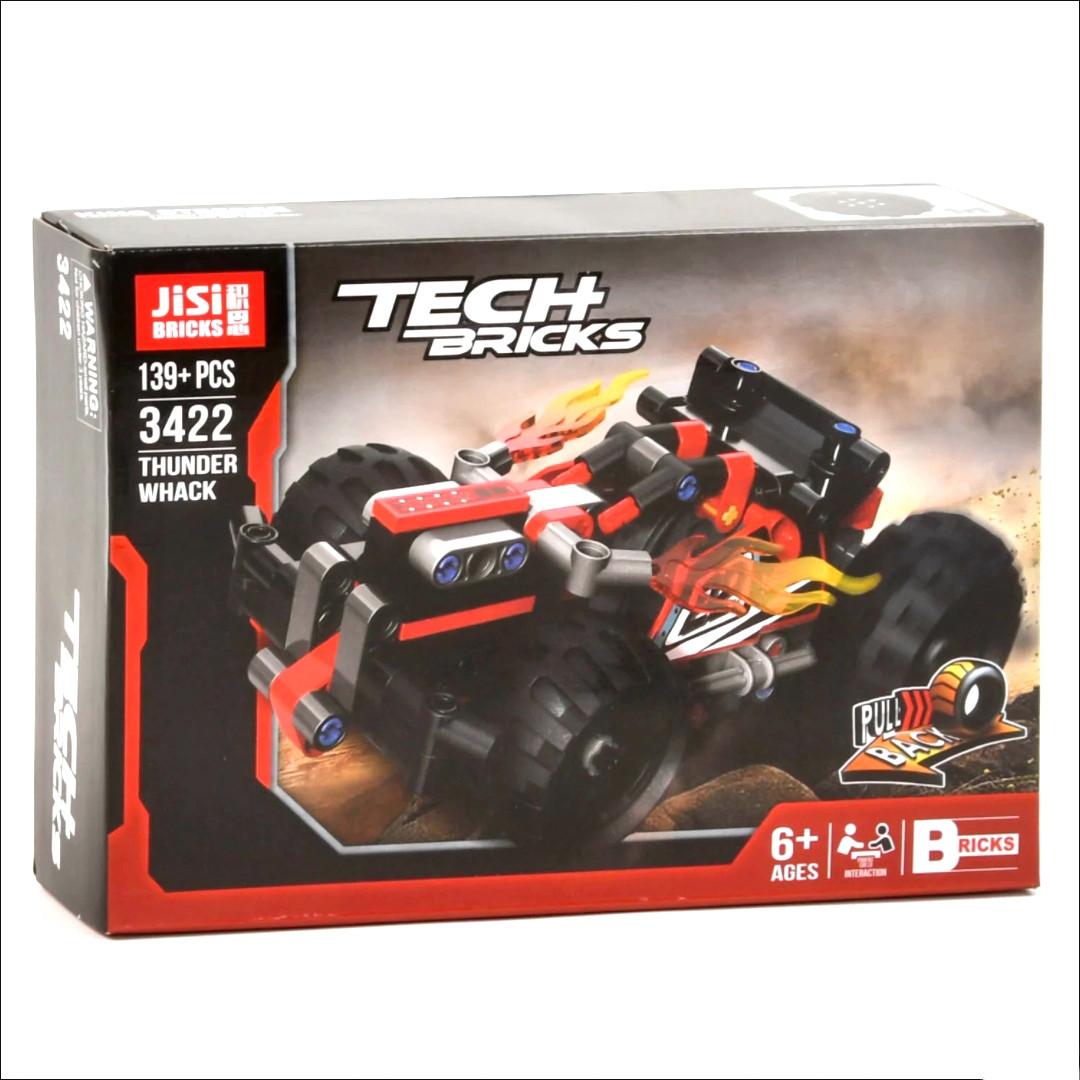 Конструктор Decool Jisi Bricks Tech Bricks 3422 139 деталей