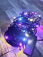 Гирлянда новогодняя 200 LED 18 метров цвет микс, фото 2