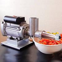 Соковитискач + М'ясорубка ТШМ-3МС-450 для томатів, винограду (120 кг/годину) і м'яса (60 кг/годину). 450 Вт.