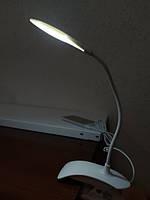 Настільна лампа офісна LED 5 Вт білий, фото 3