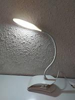 Настільна лампа офісна LED 5 Вт білий, фото 4