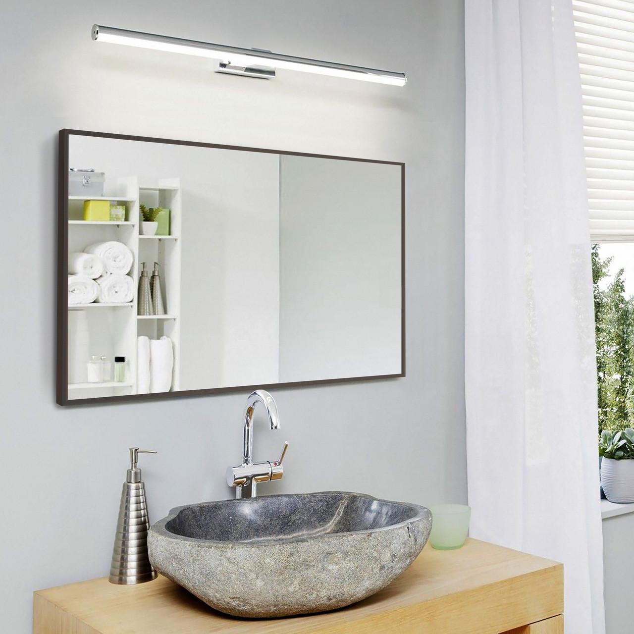 Зеркало для ванной 400х600 мм коричневого цвета пр. Украина