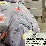Постельное белье с фланели Размер двуспальный 180*220, фото 2