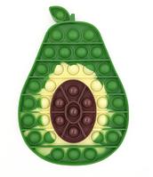 Антистресс - игрушка Pop It Pop It Avocado Авокадо Поп Ит