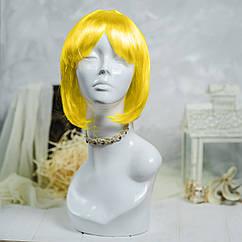 Парик Каре (желтый)