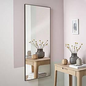 Зеркало в алюминие влагоустойчивое  1200х600 мм коричневого цвета пр. Украина
