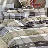 Комплект постільної білизни з фланелі комплект Розмір двоспальний 180 * 220, фото 3